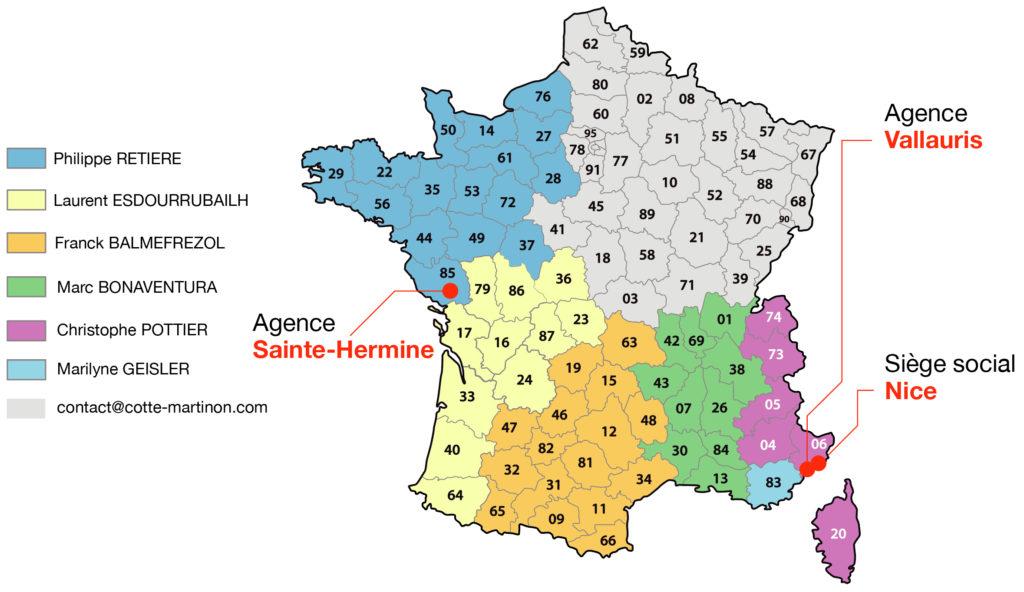 Cotte-Martinon Distributeur France